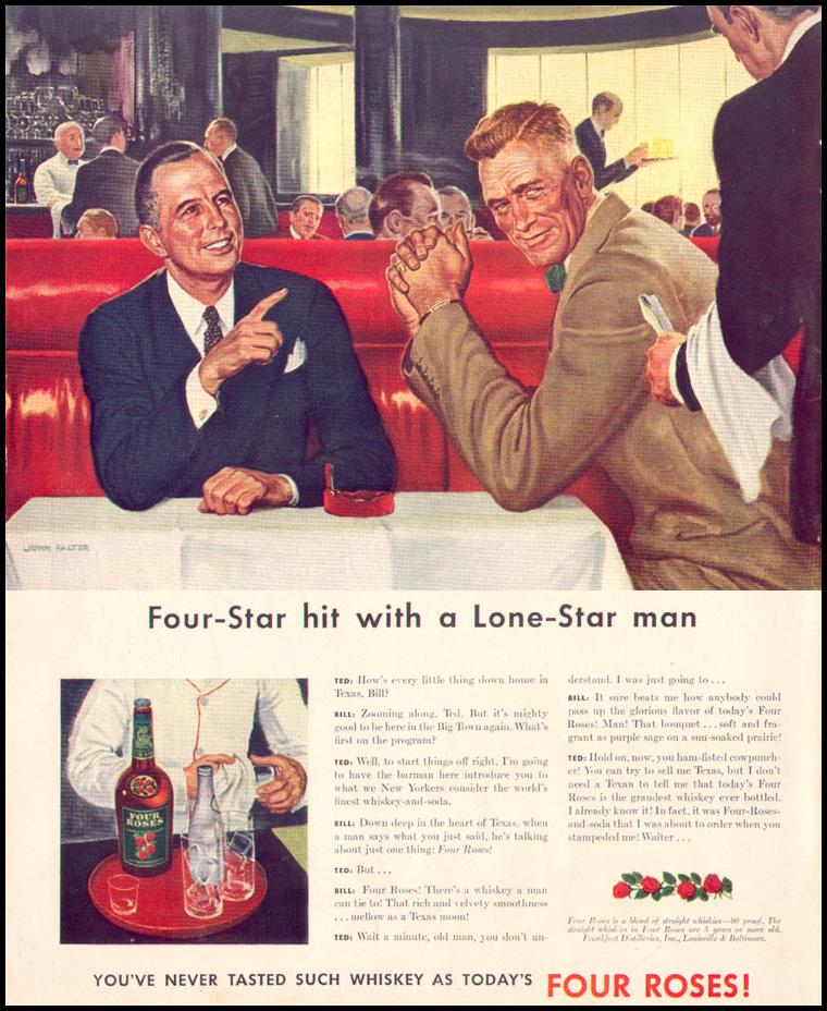 FOUR ROSES WHISKEY LIFE 11/02/1942 p. 36