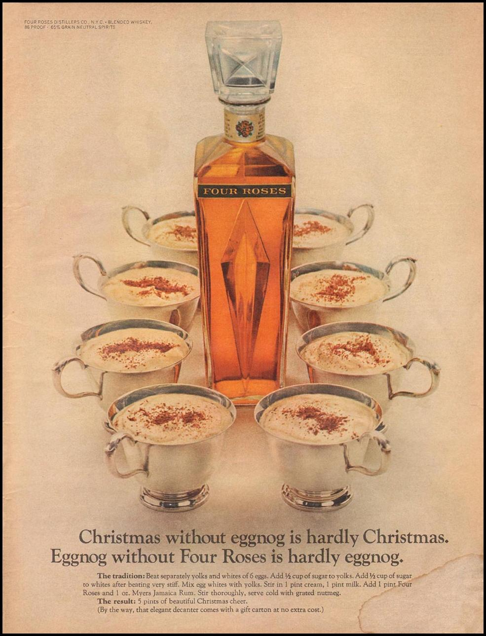 FOUR ROSES WHISKEY LIFE 12/22/1967 p. 6