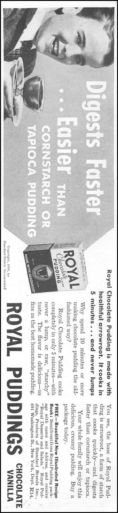 ROYAL PUDDING GOOD HOUSEKEEPING 04/01/1936 p. 161