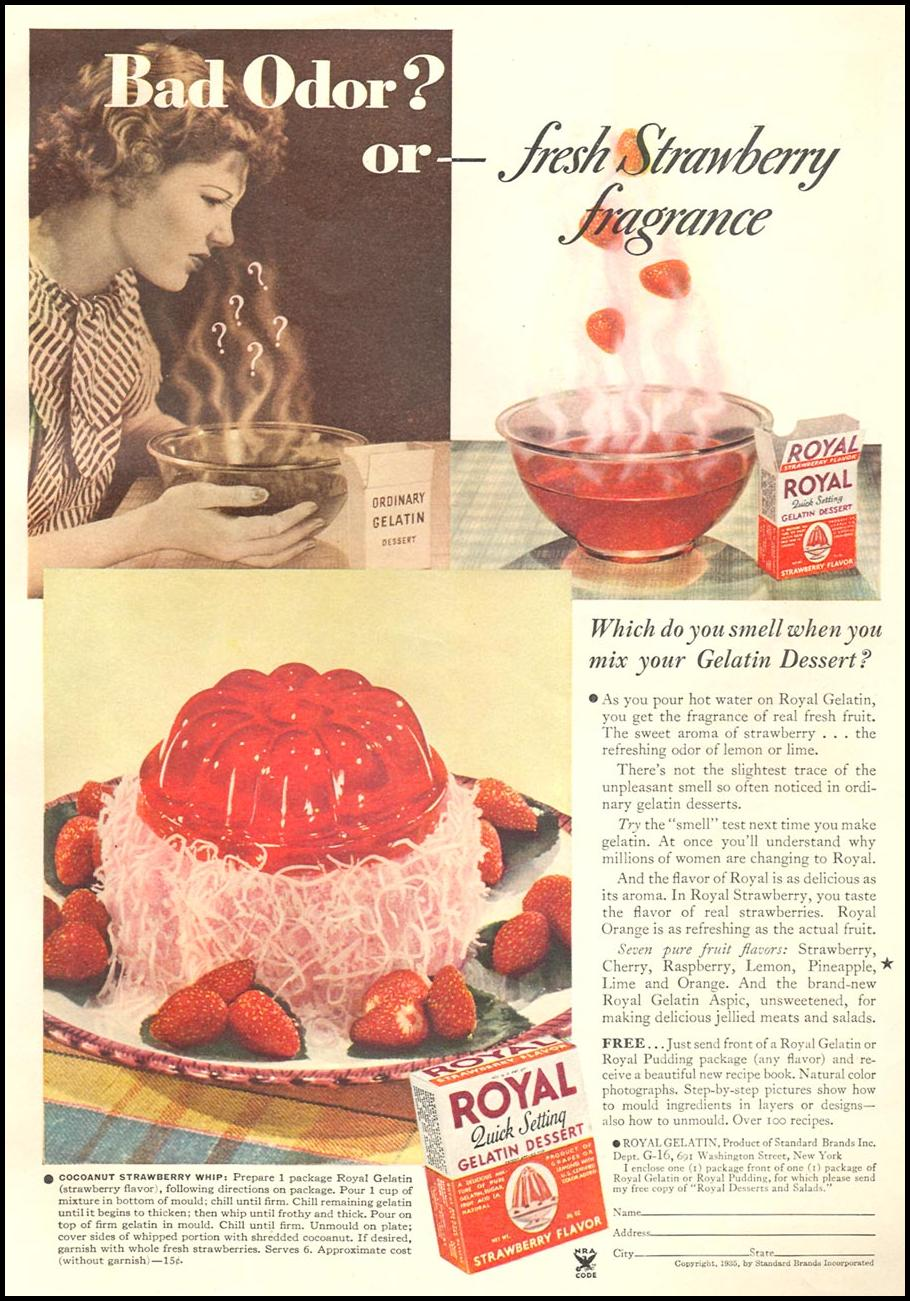 ROYAL GELATIN GOOD HOUSEKEEPING 06/01/1935 p. 133