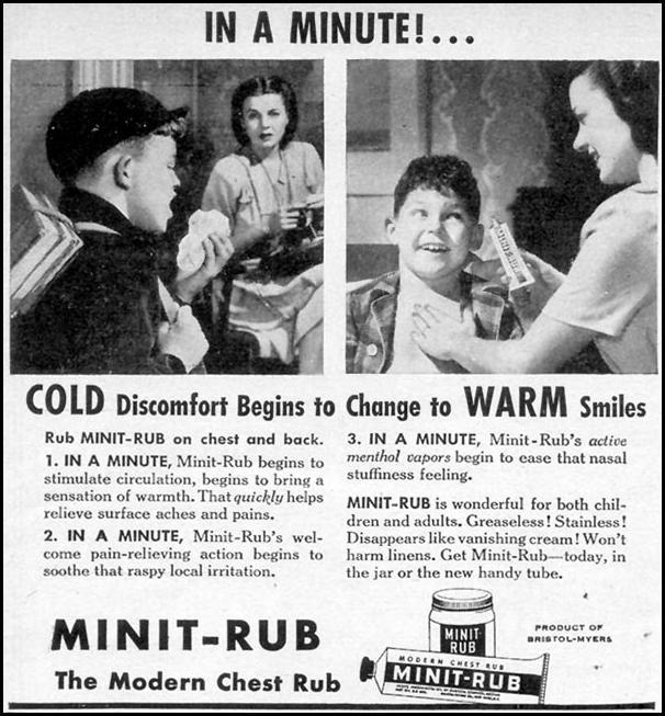 MINIT-RUB WOMAN'S DAY 02/01/1947 p. 98