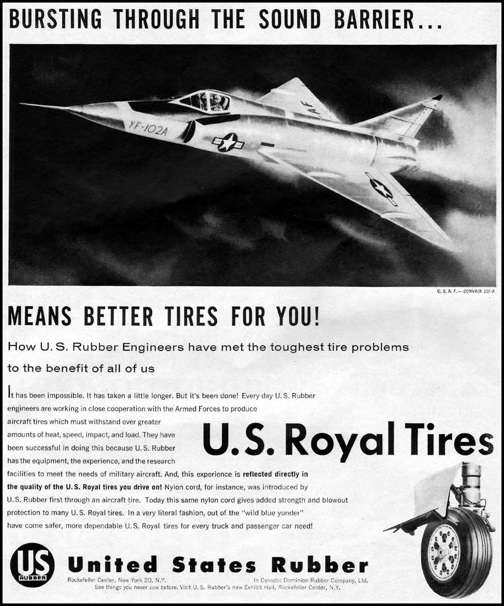 U. S. ROYAL TIRES LIFE 04/01/1957 p. 20