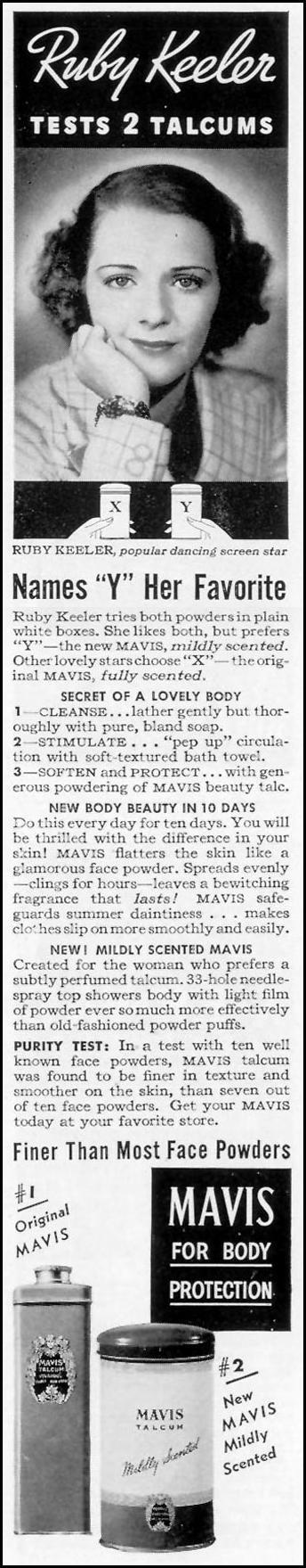 MAVIS TALCUM LIFE 08/30/1937 p. 6