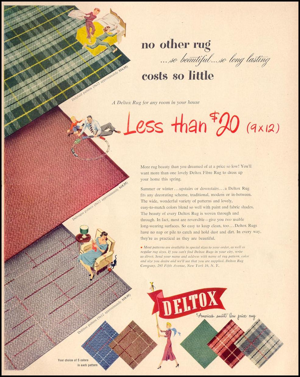 DELTOX RUGS LIFE 04/17/1950 p. 161
