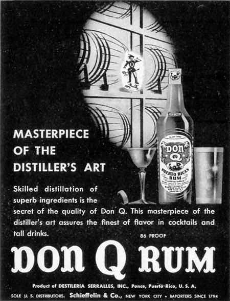 DON Q RUM LIFE 02/21/1944 p. 110