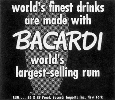 BACARDI RUM LIFE 12/25/1950 p. 52