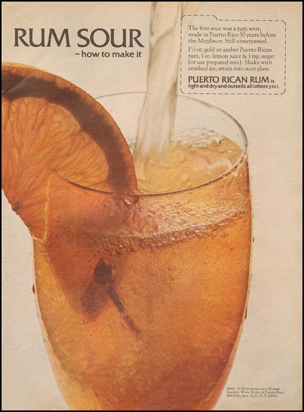 RUMS OF PUERTO RICO NEWSWEEK 05/20/1968