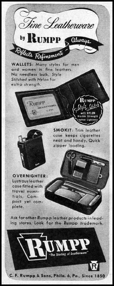 RUMPP LEATHERWARE LIFE 11/25/1946 p. 21