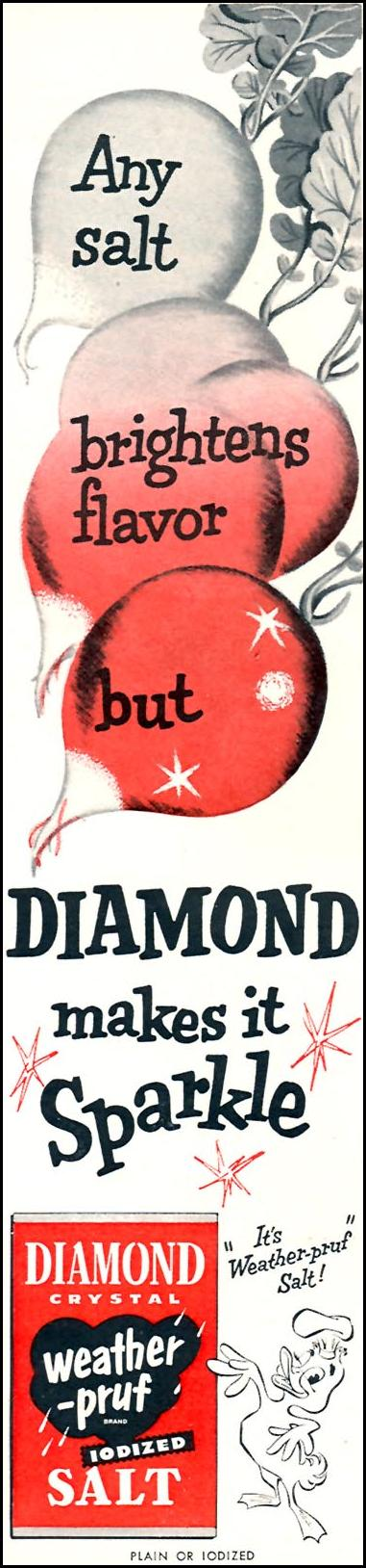 DIAMOND CRYSTAL IODIZED SHAKER SALT FAMILY CIRCLE 01/01/1956 p. 8