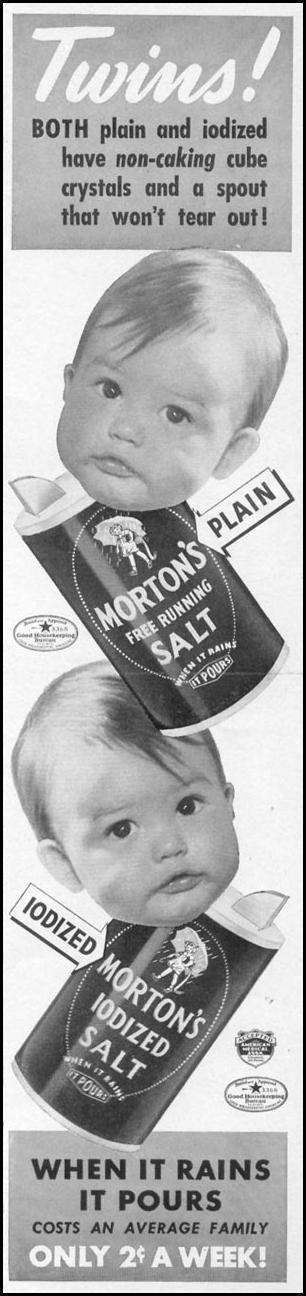 MORTON SALT WOMAN'S DAY 06/01/1941 p. 43