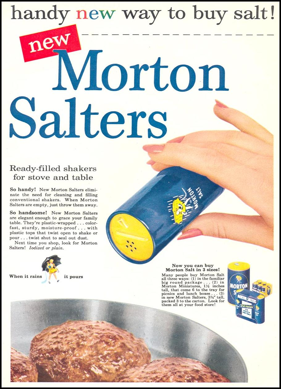MORTON SALTERS WOMAN'S DAY 09/01/1955 p. 91