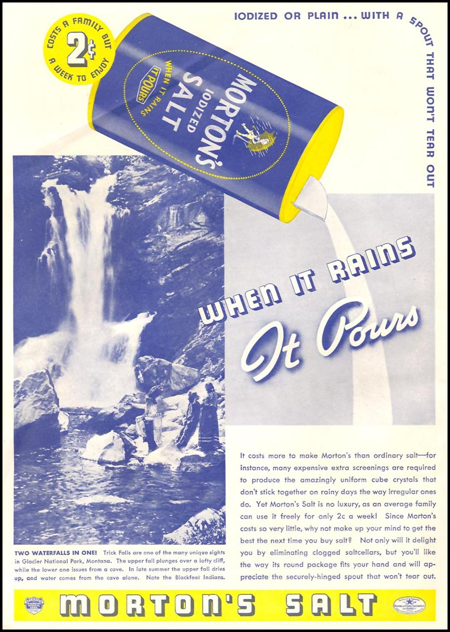 MORTON SALT GOOD HOUSEKEEPING 04/01/1936 p. 254