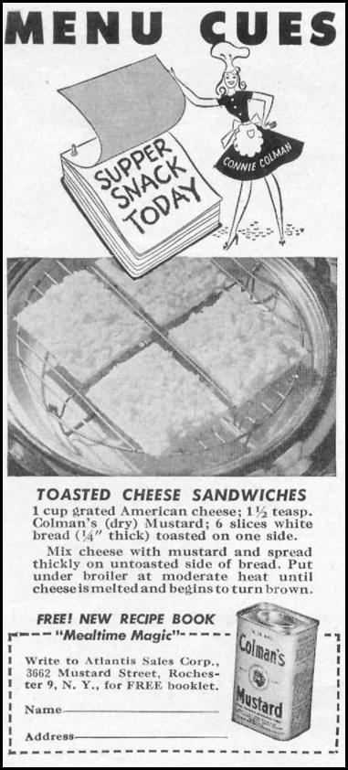 COLMAN'S MUSTARD WOMAN'S DAY 05/01/1947 p. 78