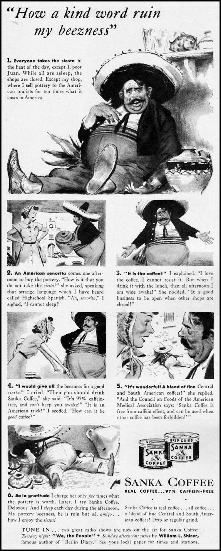 SANKA COFFEE LIFE 09/29/1941 p. 44
