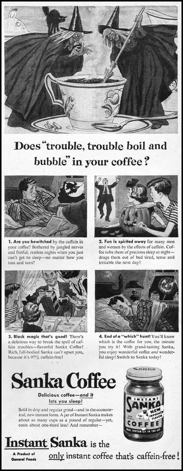 SANKA COFFEE LIFE 10/01/1951 p. 55