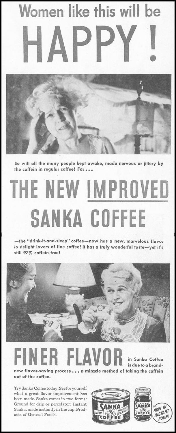 SANKA COFFEE LIFE 10/11/1948 p. 113