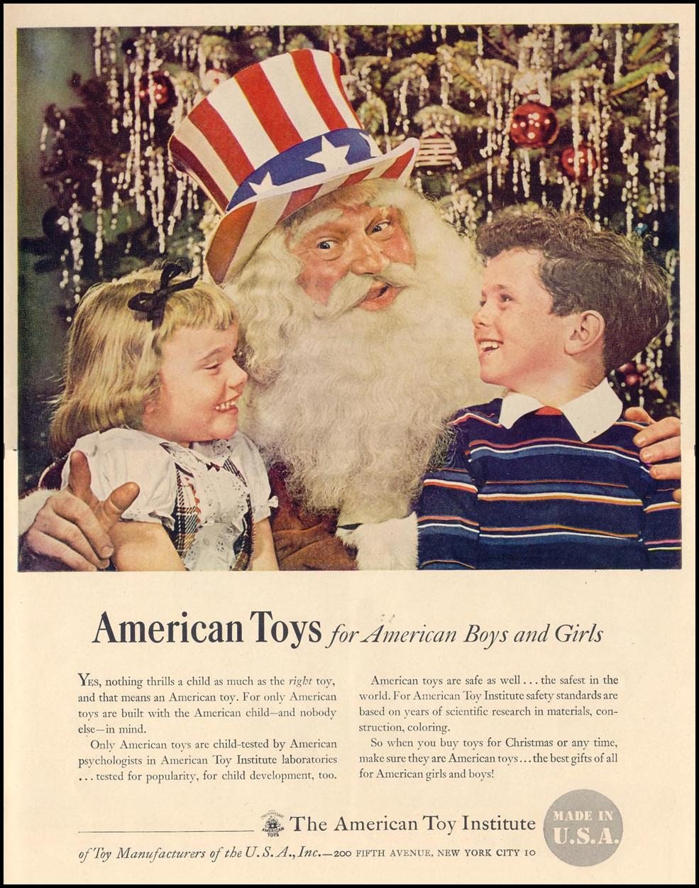 AMERICAN-MADE TOYS