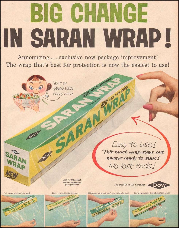SARAN WRAP LIFE 09/09/1957 p. 111