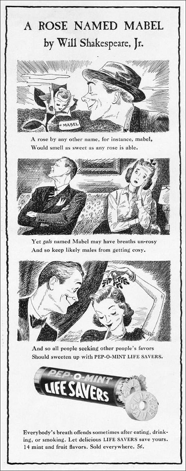 LIFE SAVERS CANDY LIFE 12/16/1940 p. 54
