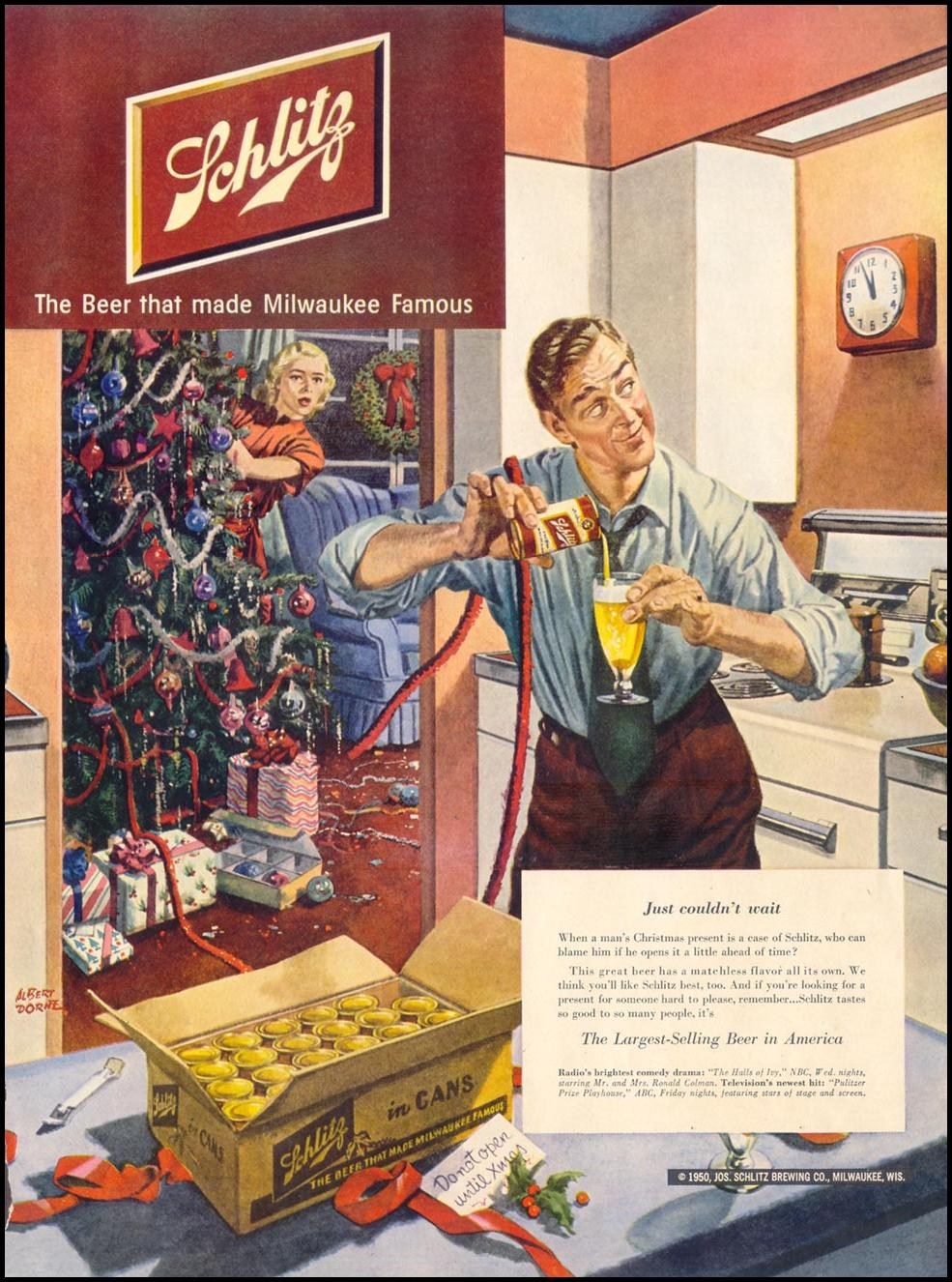 SCHLITZ BEER
