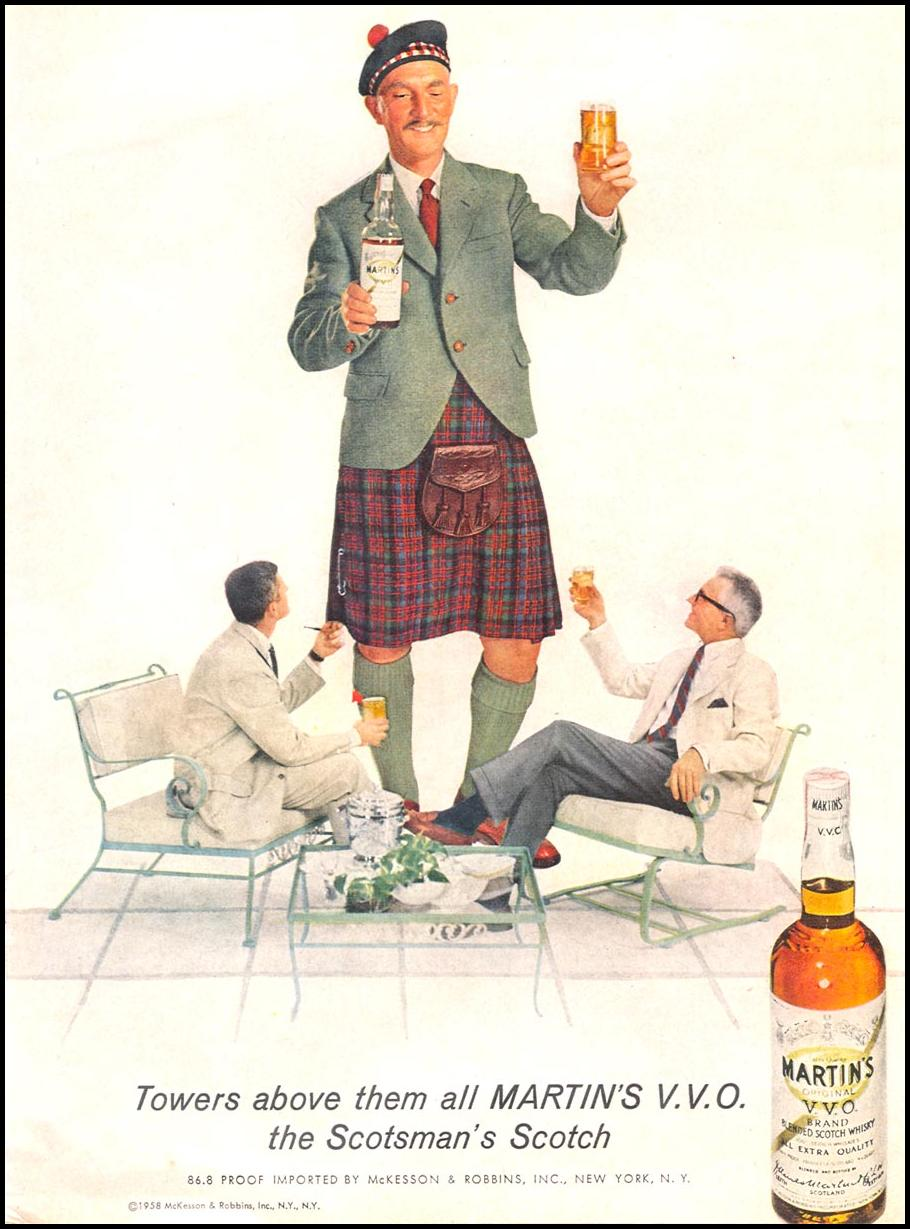 MARTIN'S V. V. O. SCOTCH TIME 09/15/1958 p. 49