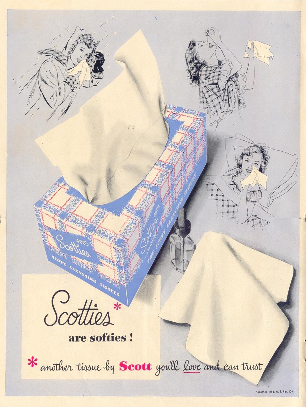 SCOTTIES TISSUES LIFE 11/15/1948