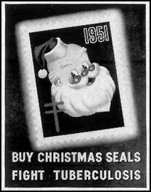 CHRISTMAS SEALS LIFE 12/24/1951 p. 62