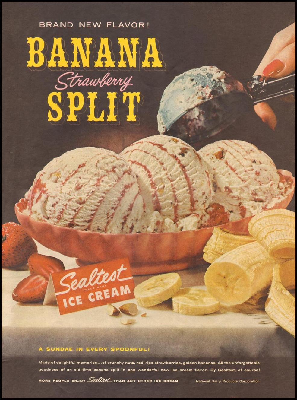 SEALTEST ICE CREAM LIFE 10/05/1959