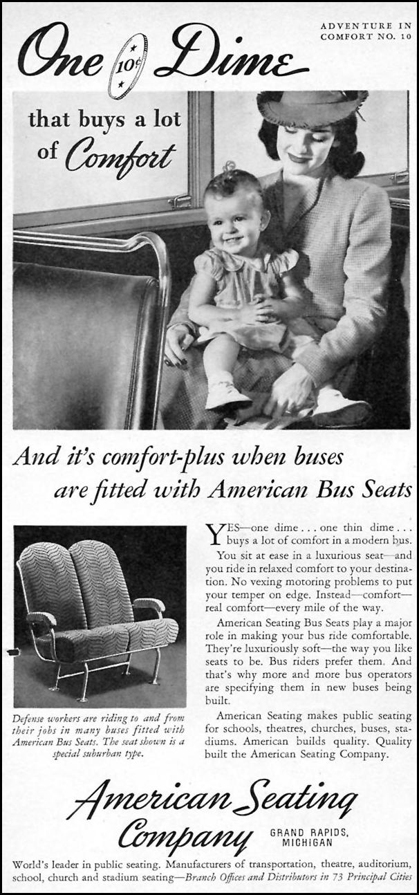 AMERICAN BUS SEATS TIME 01/12/1942 p. 76