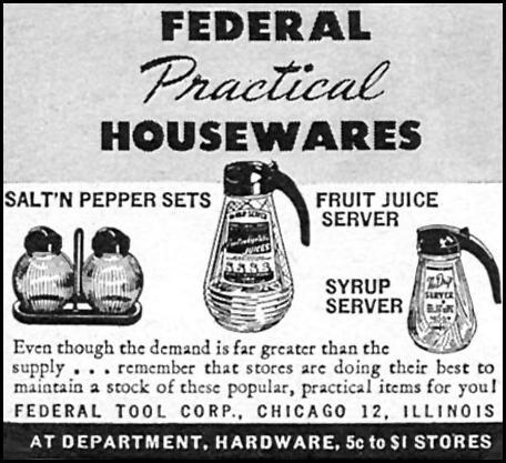FEDERAL PRACTICAL HOUSEWARES WOMAN'S DAY 05/01/1946 p. 76