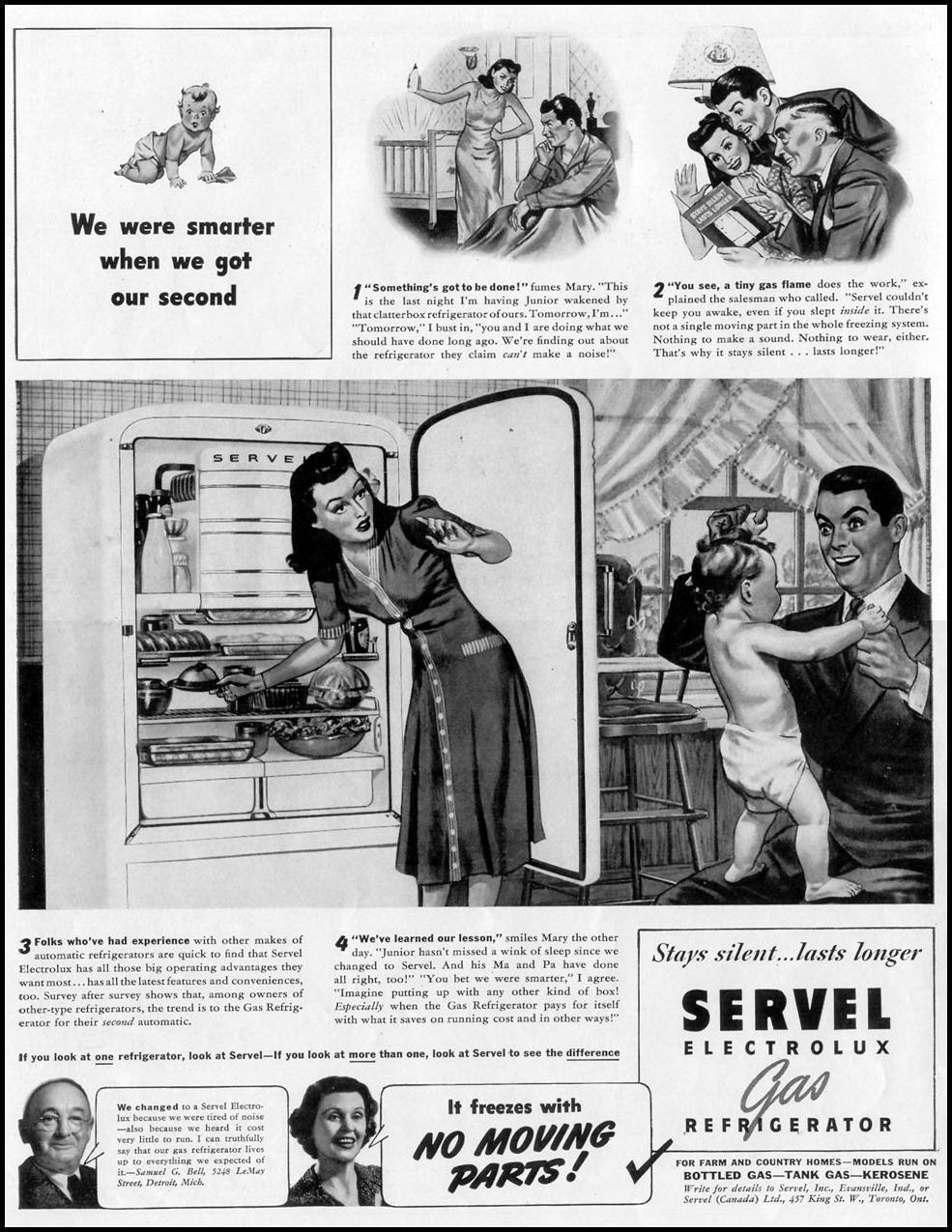 SERVEL ELECTROLUX GAS REFRIGERATORS LIFE 06/23/1941 p. 12