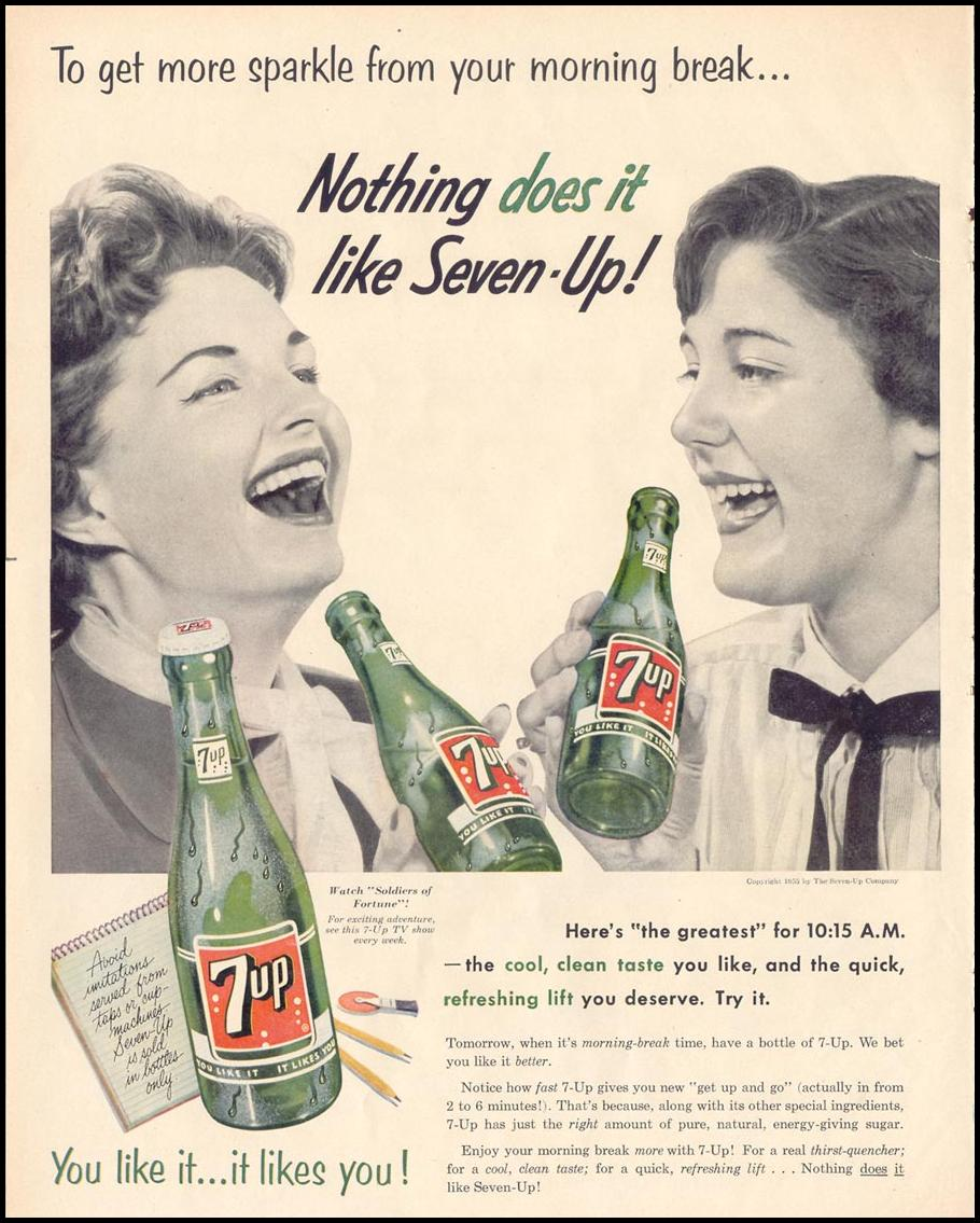 SEVEN-UP LIFE 11/14/1955 p. 108