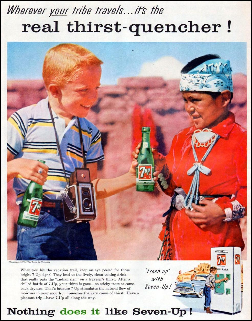 SEVEN-UP LIFE 07/01/1957 p. 6