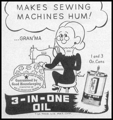 3-IN-ONE OIL WOMAN'S DAY 05/01/1947 p. 120