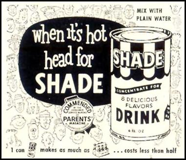 SHADE SOFT DRINK CONCENTRATE LIFE 07/06/1953 p. 84