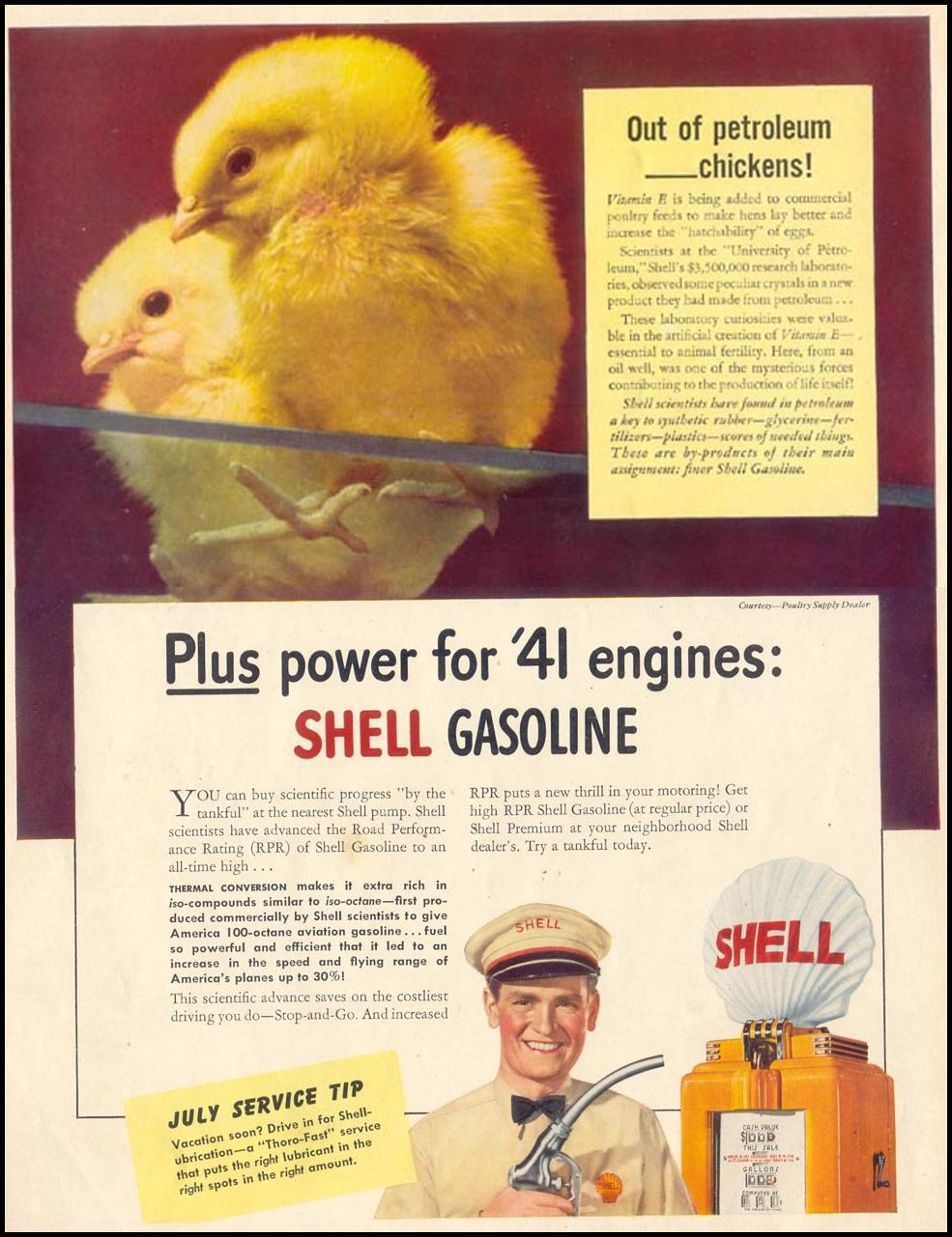 SHELL GASOLINE