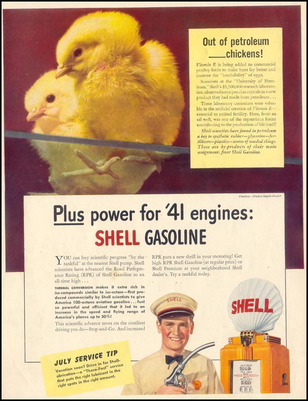 SHELL GASOLINE LIFE 06/23/1941