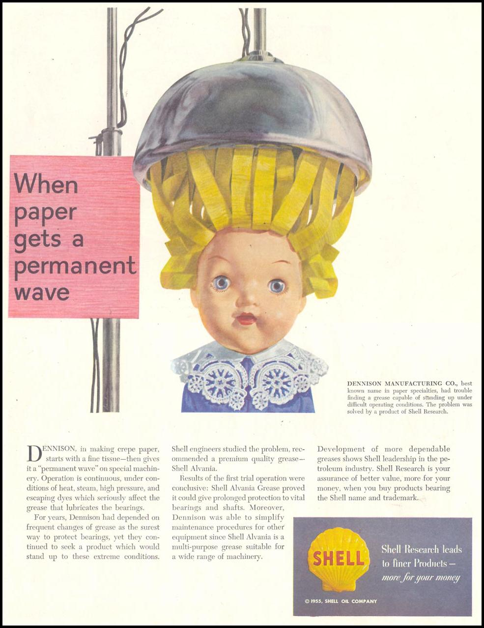 SHELL RESEARCH SATURDAY EVENING POST 02/05/1955 p. 2