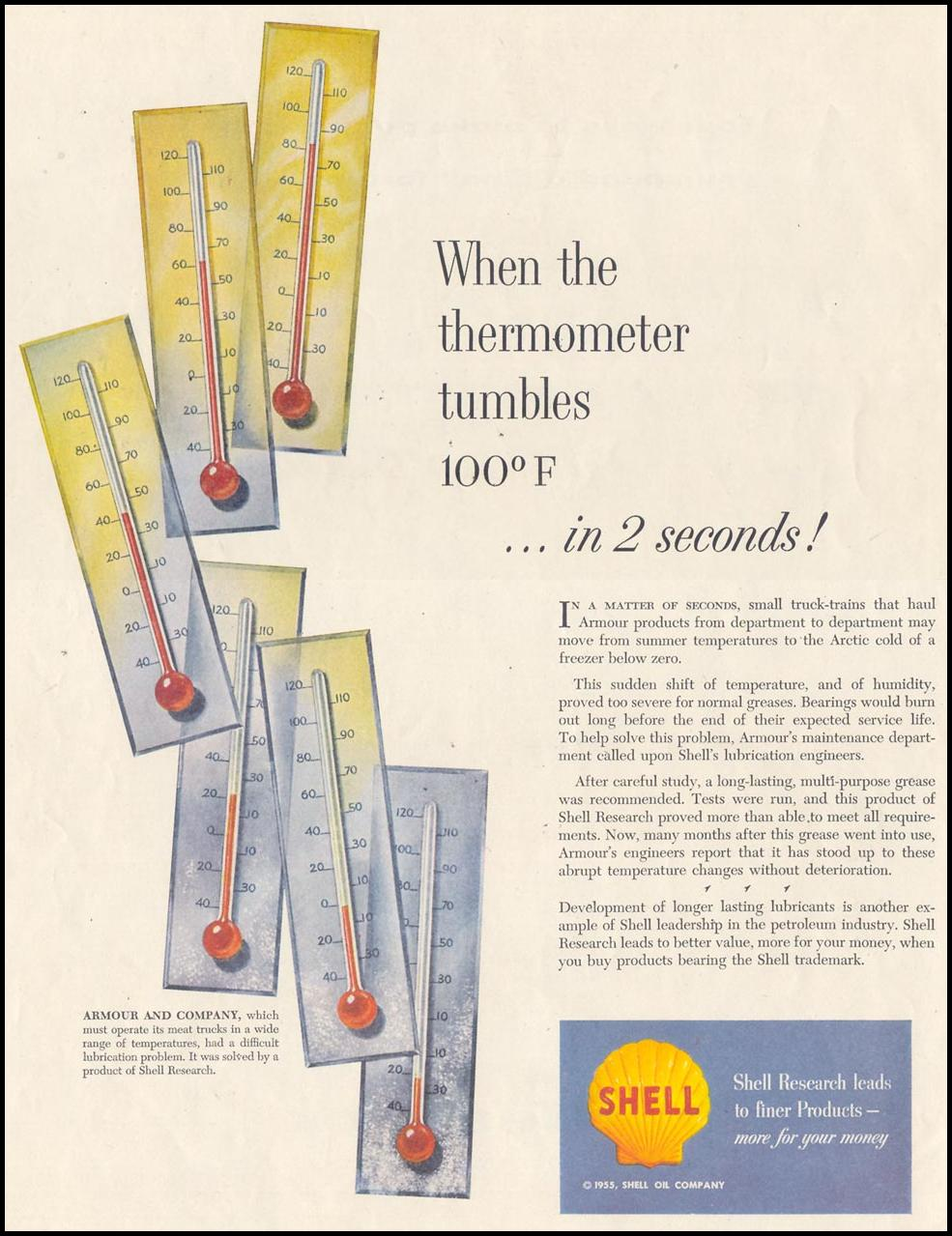 SHELL RESEARCH SATURDAY EVENING POST 07/23/1955 p. 2