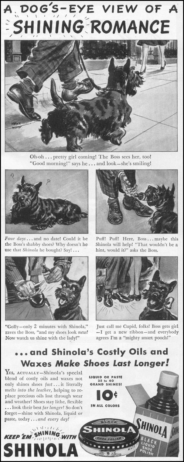 SHINOLA SHOE POLISH LIFE 11/02/1942 p. 73