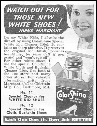 COLORSHINE SHOE DRESSINGS