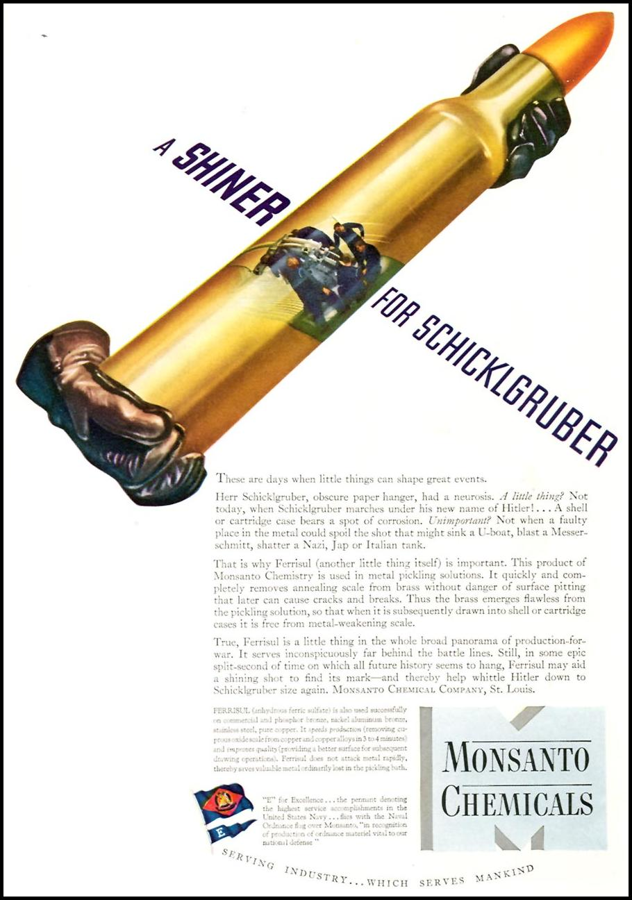 MONSANTO WARTIME PRODUCTION TIME 06/15/1942 p. 67