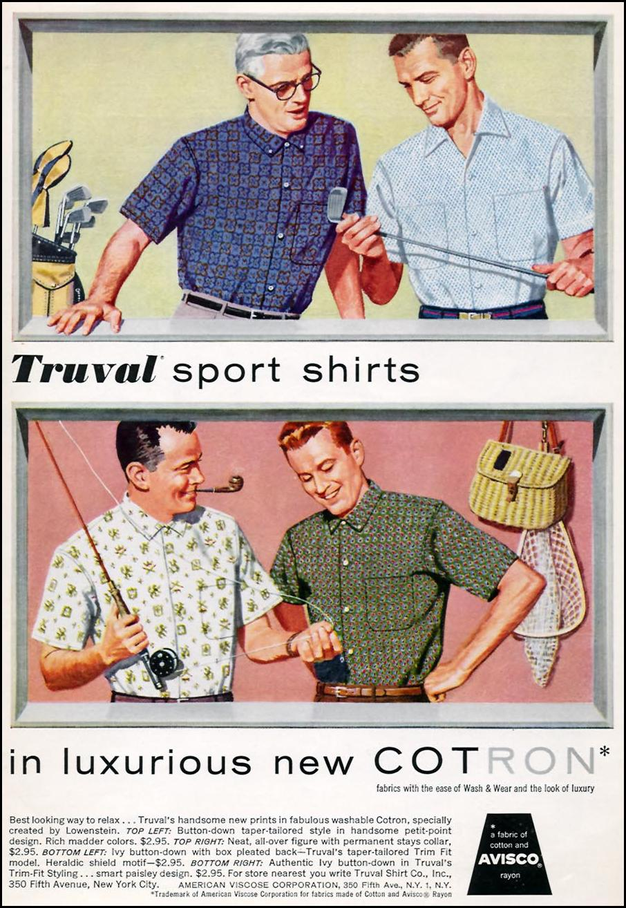 COTRON FABRIC SPORTS ILLUSTRATED 04/27/1959 p. 65