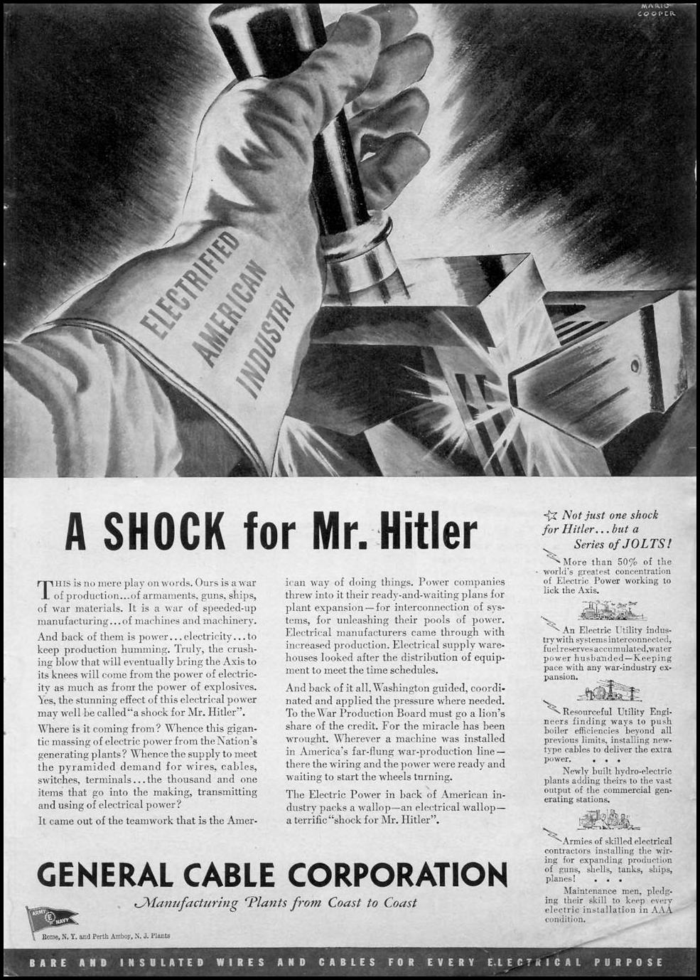 A SHOCK FOR MR. HITLER