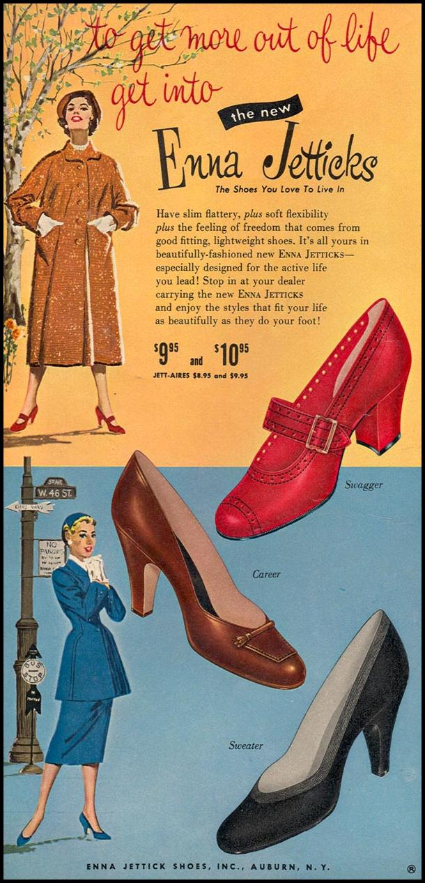 ENNA JETTICK SHOES WOMAN'S DAY 09/01/1955 p. 24