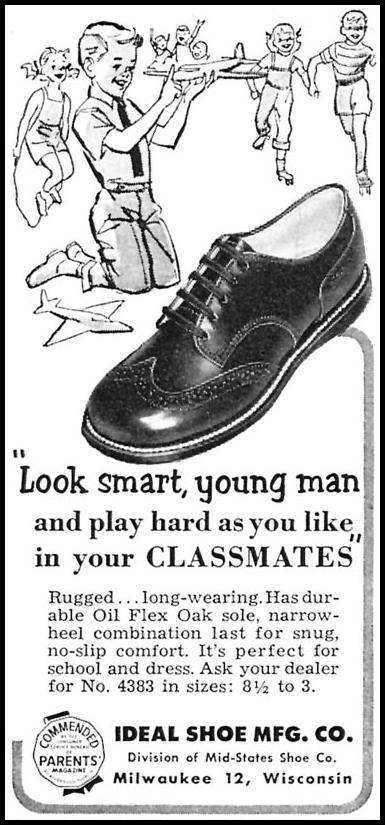 CLASSMATES SHOES WOMAN'S DAY 10/01/1956 p. 132