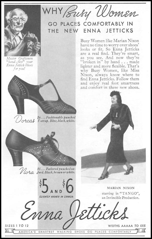 ENNA JETTICK SHOES GOOD HOUSEKEEPING 04/01/1936 p. 223