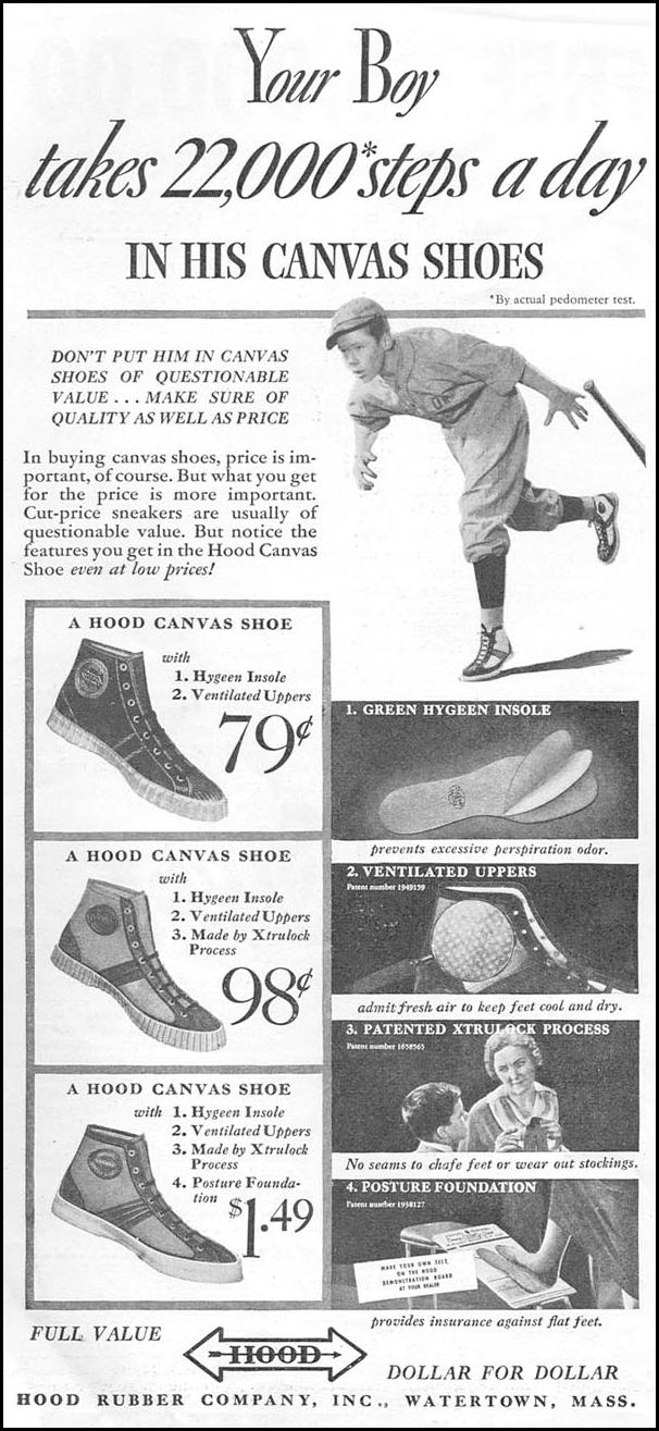 HOOD CANVAS SHOES GOOD HOUSEKEEPING 06/01/1935 p. 222