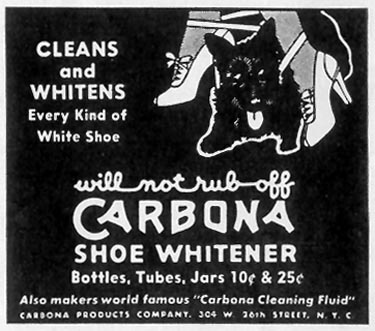 CARBONA SHOE WHITENER LIFE 06/23/1941 p. 74