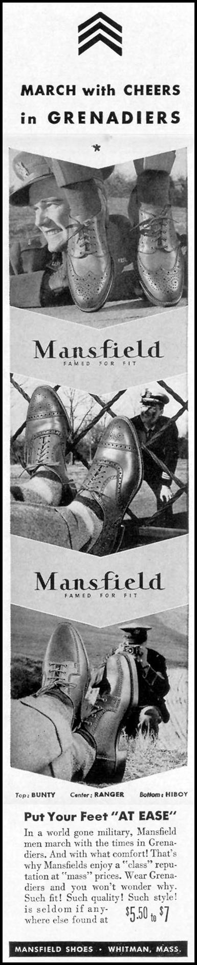 MANSFIELD GRENADIERS LIFE 10/13/1941 p. 149